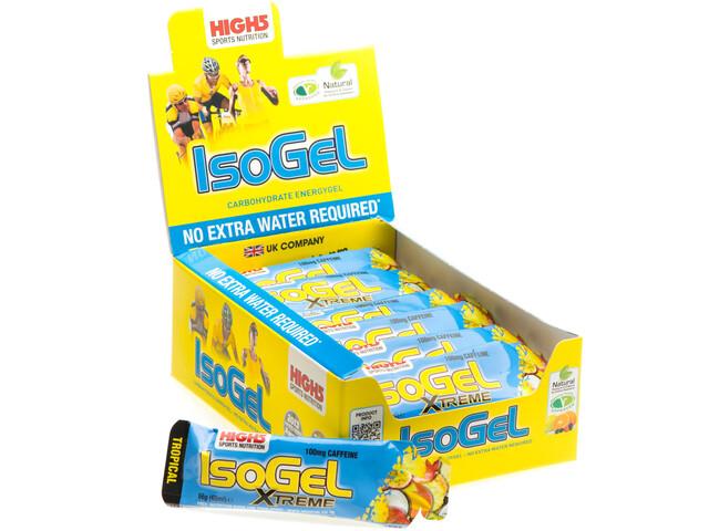 High5 IsoGel Xtreme Box 25x60ml, Tropical (2019) | Energy gels